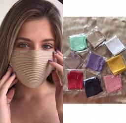 Máscaras de tricô