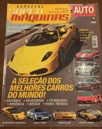 Revista Auto Esporte Especial Super Máquinas