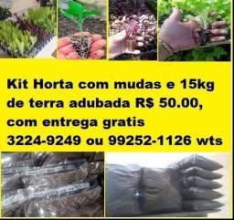 Kit Horta R$ 50.00