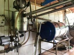 Ordenhadeira Delaval Automática com Boiler