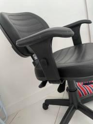 Cadeira em couro ergonomica