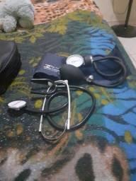 Esfigmomanômetro com fecho de Metal-com Estetoscópio-Premium