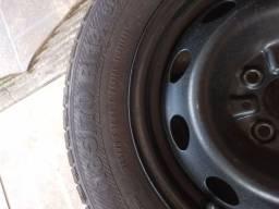 Vendo jogo de rodas Fiat aro 14