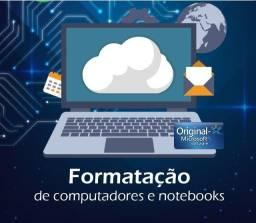 Formatação Windows PC e Notebook