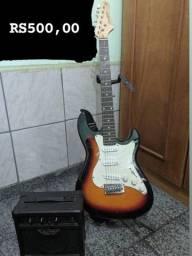Kit Guitarra + Amplificador Strinberg