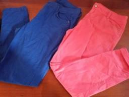 Vendo duas calças Tam 46/48 usada e conservadas