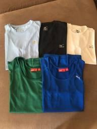 Camisetas Puma e Mizuno Feminina