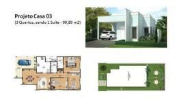 Casa com 3 dormitórios à venda, 99 m² - Pindobas - Maricá/RJ