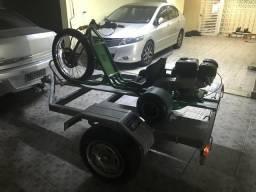 Carretinha para drift trike