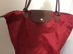 Bolsa Vermelha Longchamp (original)