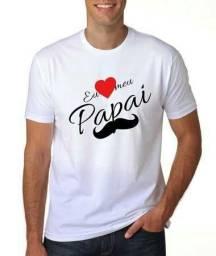 Camisetas dias dos Pais personalizadas