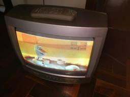 "TV (tubo) 14"" funcionando 100%"