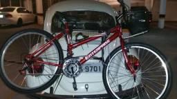 Bicicleta = semi-nova