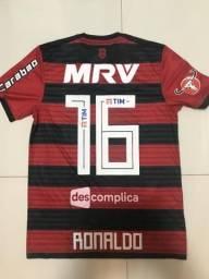 Camisa Flamengo, oficial de jogo. 2018