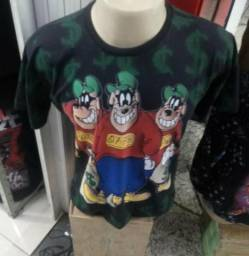 Camiseta Irmãos Metralha
