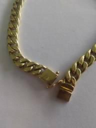 Pulseira ouro 18k/750