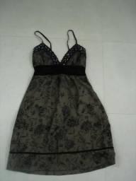Vestido de festa longuete - tam 38