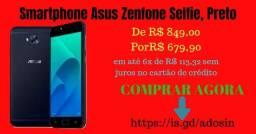 """Smartphone Asus Zenfone Selfie, Preto, ZB553KL, Tela de 5.5"""", 16GB, 13MP"""