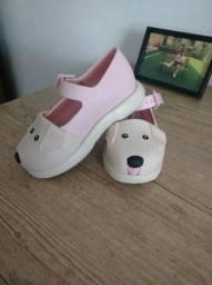Sapato infantil menina Tam. 23/24 - Mini Melissa Play Step