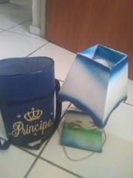 Abajur e bolsa de guarda mamadeira