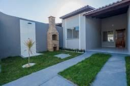 Casa nova, 2 quartos, 2 wc's, garagem, sala, coz, quintal, escritura grátis
