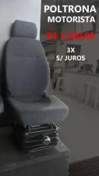 Poltrona Motorista Hidráulica