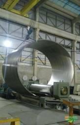 Fabricação de tubos de aço carbono e inox , flanges , conexões