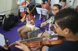 Aula de Violino - ESCOLA CHAMARE