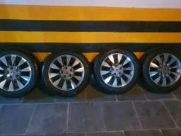 Rodas originais do Honda Civic 2011 semi novas