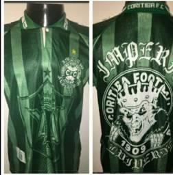 Camisas Império Alviverde anos 90