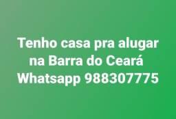 Casa para Alugar na Barra do Ceará