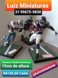Miniaturas Boneco Futebol Americano