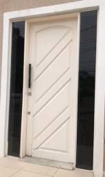 Portal Madeira Itauba - Laca Branca