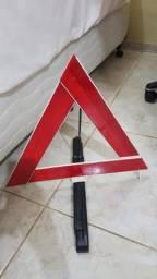 Triângulo de sinalização toyota