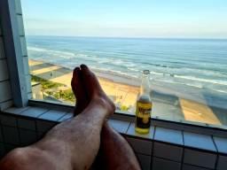 Apto.Frente ao Mar-1dormt-Caiçara-Praia Grande-LEIA TODO ANUNCIO-Ano Novo disponível