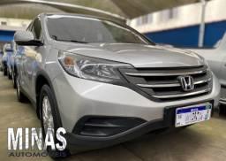 Honda Cr-v Lx 2012 Completo + bancos em couro