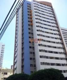Apartamento com 2 dormitórios à venda, 65 m² por R$ 480.000 - Meireles - Fortaleza/CE