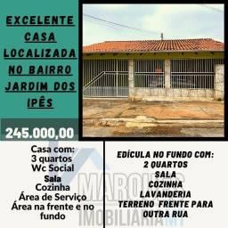 Título do anúncio: Saia Já do Aluguel Excelente Casa no Bairro Jardim dos Ipês