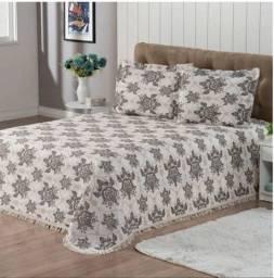 Vendo lençóis de malha e colcha cobre leito