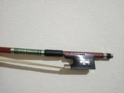 Arco em Pau-Brasil de autor para violino 4/4 com NOTA FISCAL