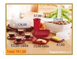 Tupperware Kit com 12 Peças