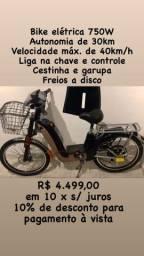 Bicicleta Elétrica loja física com garantia