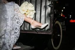 Vestido e Sapato de noiva