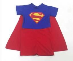 Fantasia Infantil Curta Super Man