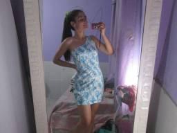 Vestido lindo um ombro 10 reais (veste p e m)