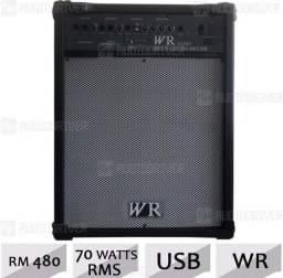 Caixa Amplificada Multiuso Rm 480 USB 70w Rms Wr Audio