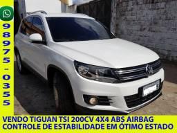 Vendo Tiguan Tsi 4x4 Controle de estabilidade Completo de Tudo.
