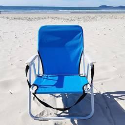 Cadeira de Praia Infantil Azul