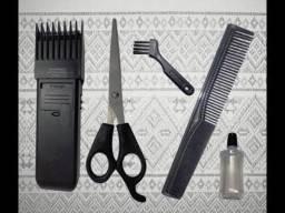 Máquina de corte de cabelo, peito e barba