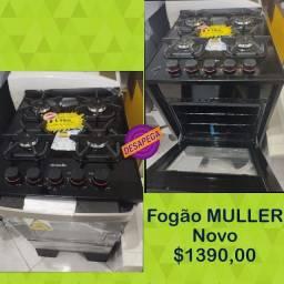 FOGÃO NOVO MESA DE VIDRO